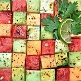 Cubed Avocado and Melon Salad