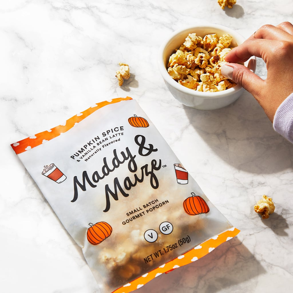 Maddy & Maize Gourmet Popcorn in Pumpkin Spice & Vanilla Bean Latte