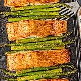 Hoisin Salmon and Asparagus