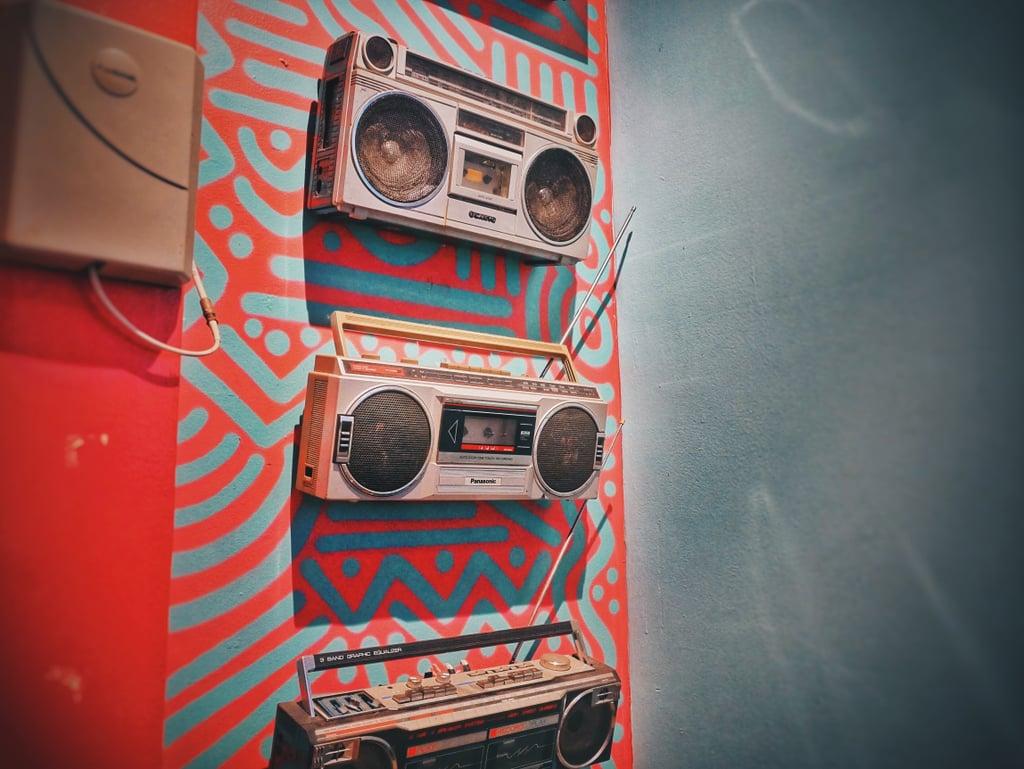 Listen to the radio.