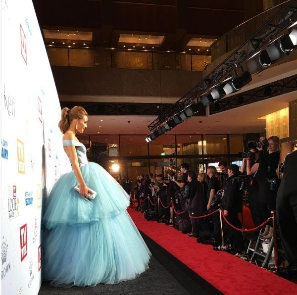 Rebecca Judd Was One of the First to Arrive and One of the Most Popular Celebs at the Event