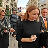 Stella McCartney and Kate Moss had a day of shopping in Paris.
