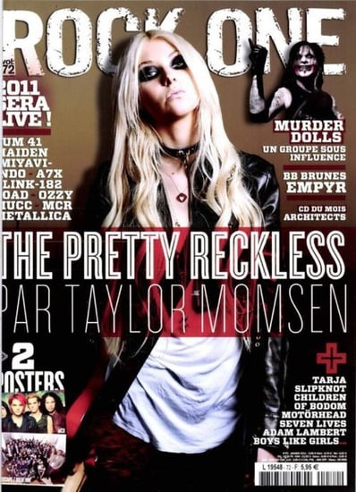 Taylor Momsen covers Rock One-january 2011