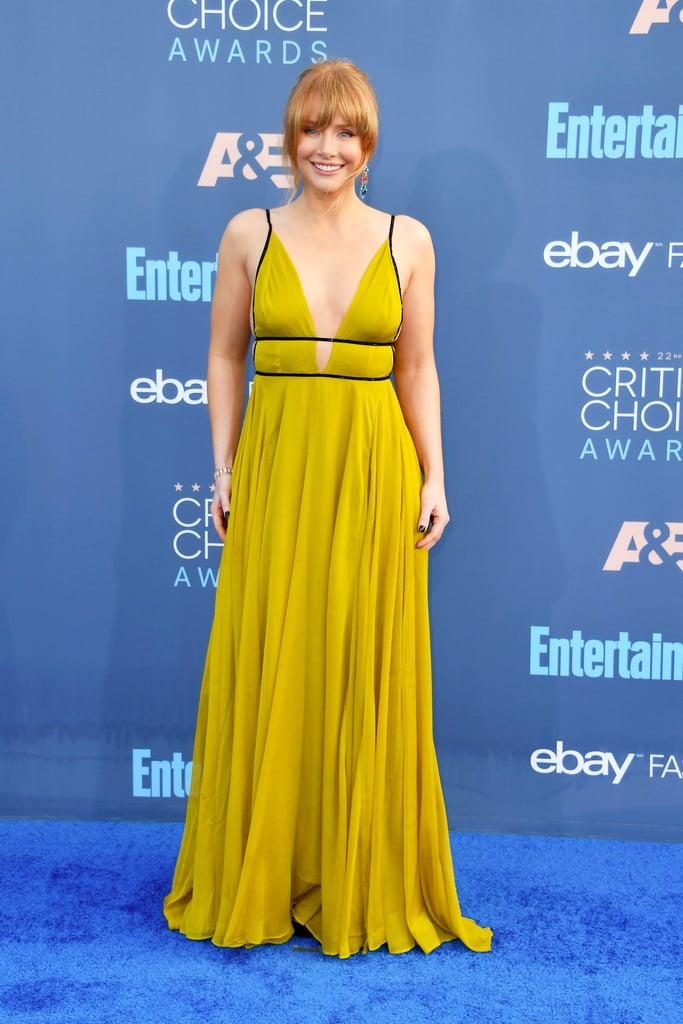 Bryce Dallas Howard's Dress at Critics' Choice Awards 2017