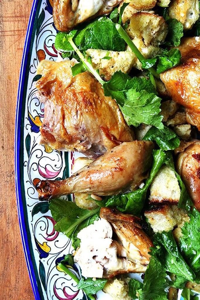 Zuni Cafe Roast Chicken With Bread Salad
