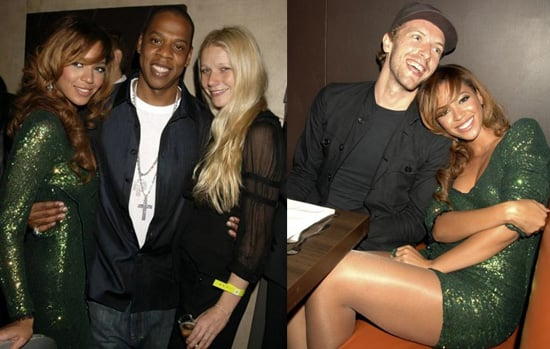 Beyonce and Jay-Z Celebrate with Gwyneth