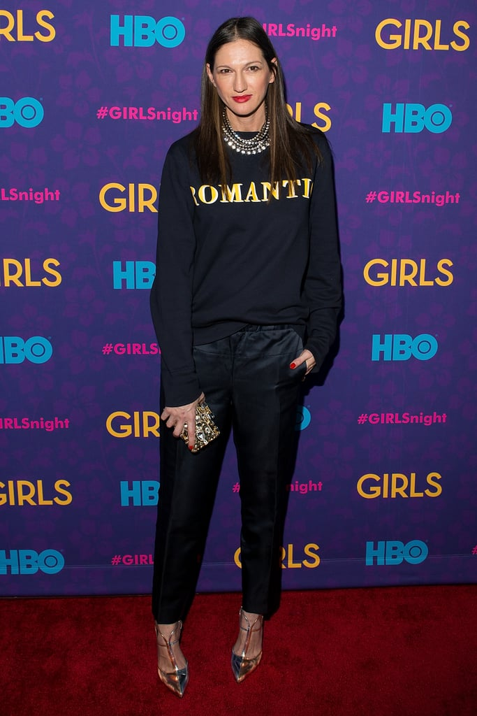 Head's up: J.Crew president Jenna Lyons guest-stars in season three of Girls.
