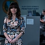 Judy's Pink-and-Blue Floral Dress on Dead to Me