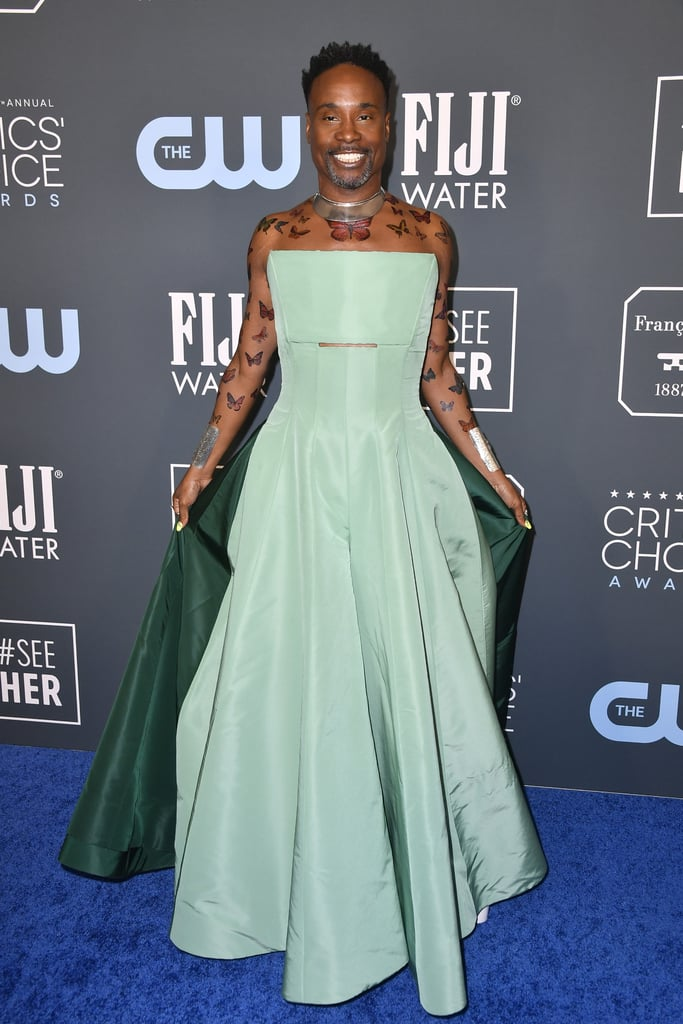 Billy Porter S Butterfly Tattoos At Critics Choice Awards