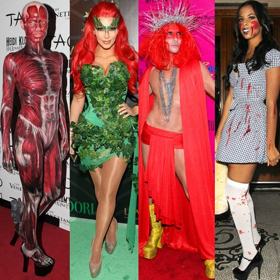 Celebrities dress up for halloween 2011 popsugar fashion uk sciox Image collections