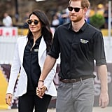 October: Meghan and Harry open the Invictus Games in Australia.
