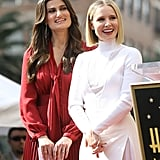 Kristen Bell and Idina Menzel Walk of Fame Ceremony Pictures