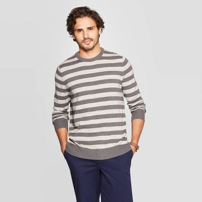 Goodfellow & Co™ Men's Standard Fit Crew Neck Sweater