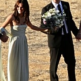 Rachel Bilson introduced Josh Schwartz, the creator of The O.C., to his wife Jill Stonerock — so when they tied the knot in Santa Barbara, CA back in September 2008, Rachel acted as the maid of honor.