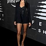 Shanina Shaik at the Savage x Fenty New York Fashion Week Show