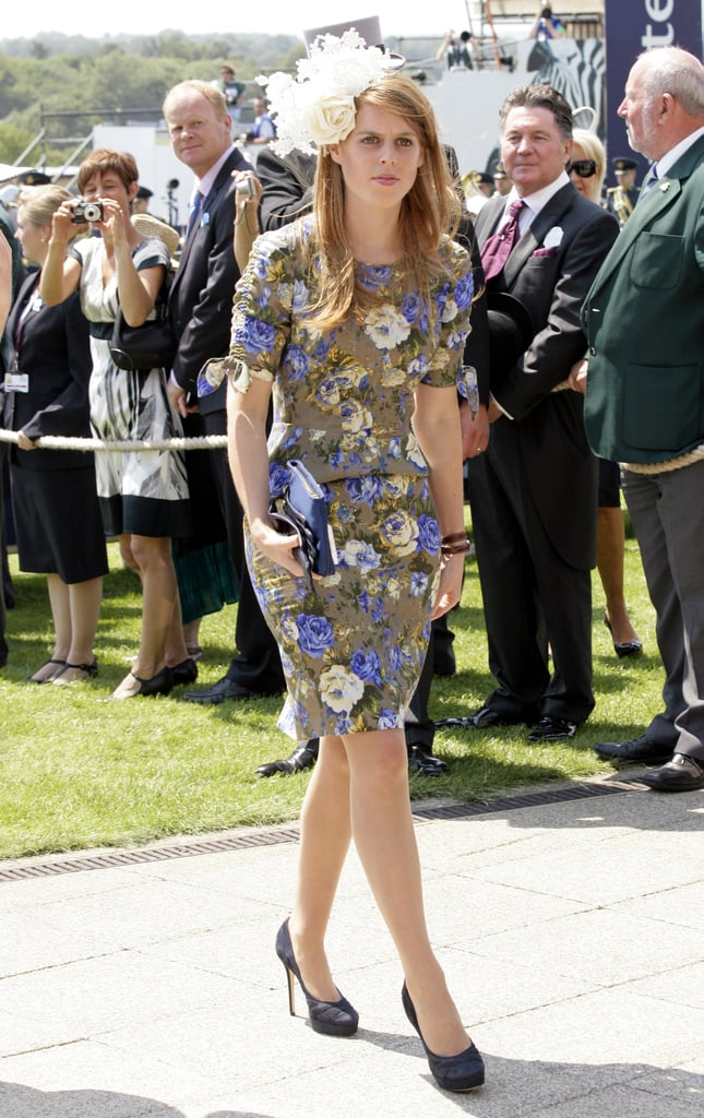 A Floral Dress Is Great, but One With Bows at the Sleeves Is Sublime