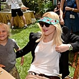 In 2013, Gwen and Zuma made an appearance at a charity event in LA.