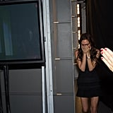 Victoria Beckham was overcome by emotions following her Fashion Week presentation.  Source: Instagram user victoriabeckham