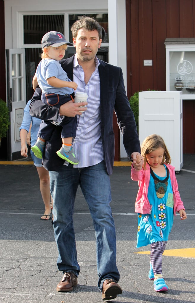 Doting celebrity dads with kids