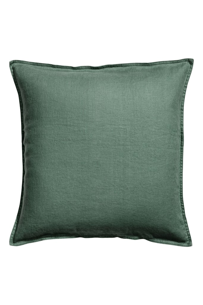 H&M Washed Linen Cushion Cover ($14.99)