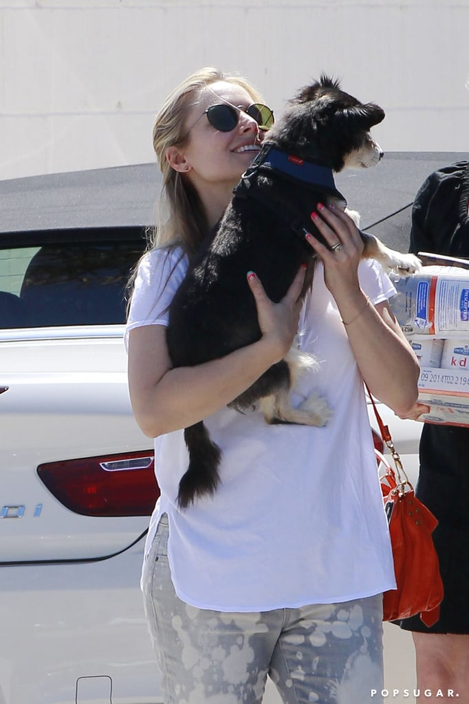 Kristen Bell Takes Care of Her Pups and Preps to Go Country With Jason Aldean