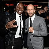 Pictured: Tyrese and Jason Statham