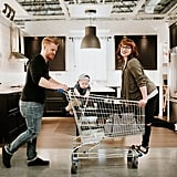 Family Photo Shoot at Ikea