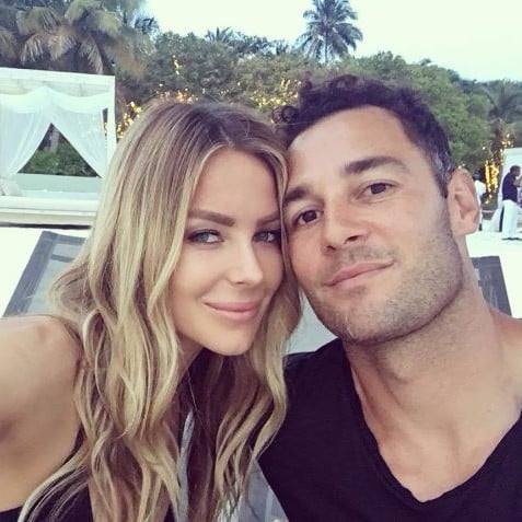 Jennifer Hawkins and Jake Wall The Maldives Pictures 2017