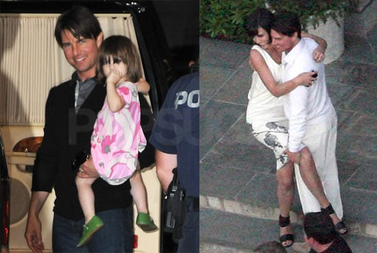 Photos of Tom Cruise And Katie Holmes' Housewarming Party