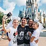 Twins Who Married Twins Honeymoon at Disney World 2018