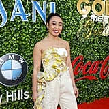 Katelyn Ohashi at the 2020 Gold Meets Golden Party in LA