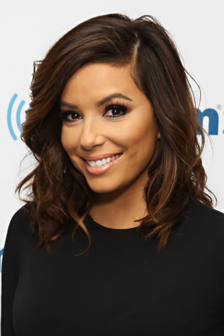 eva longoria mid length and soft celebrity haircuts for. Black Bedroom Furniture Sets. Home Design Ideas