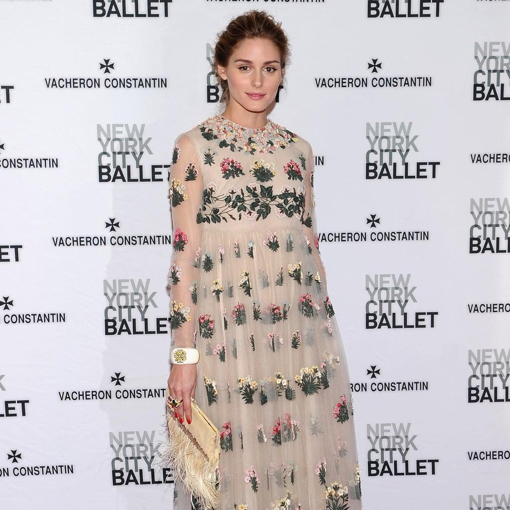 Olivia Palermo's Valentino Dress at NYC Ballet Gala ...