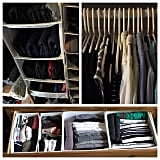 According to Kondo, a well-organised closet should be able to hold many belongings.