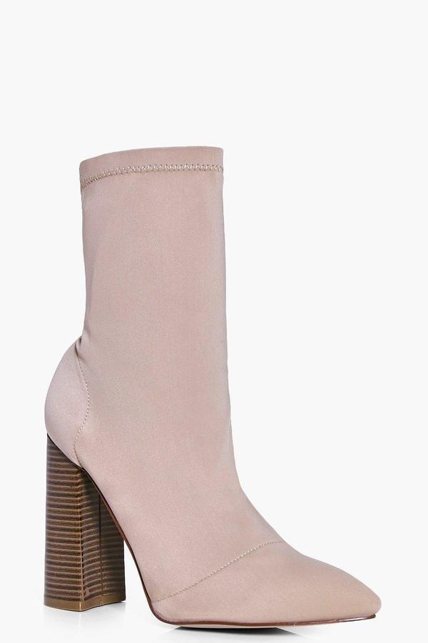 boohoo Sock Boot