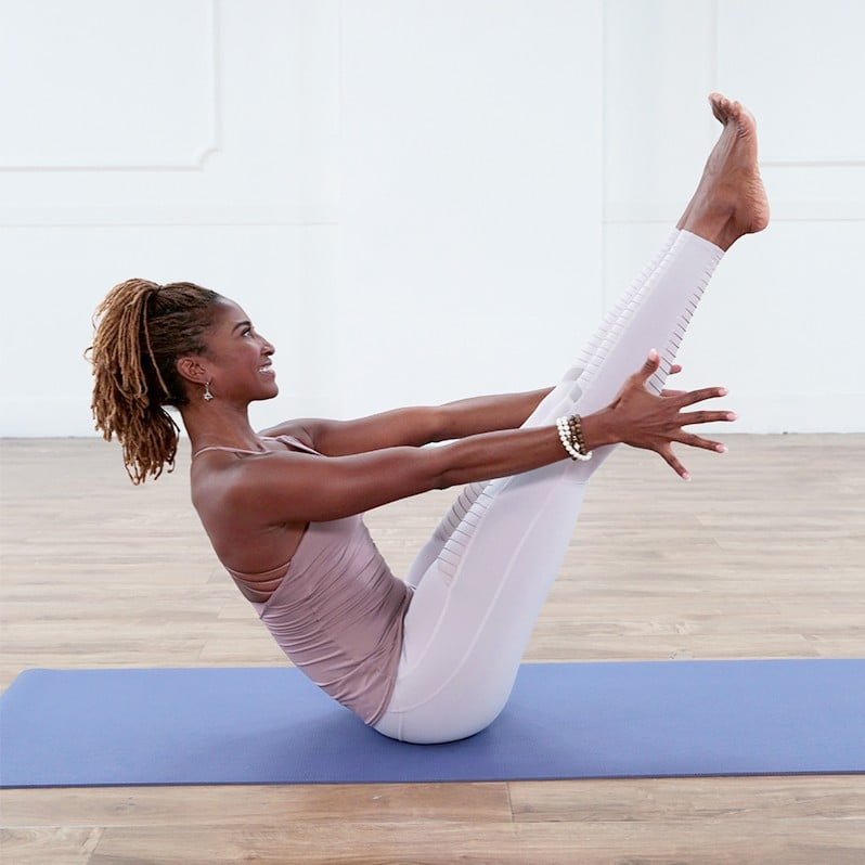 30 Minute Power Yoga Flow For A Sculpted Core 6 Yoga Videos That Target Your Core Like You Never Thought They Could Popsugar Fitness