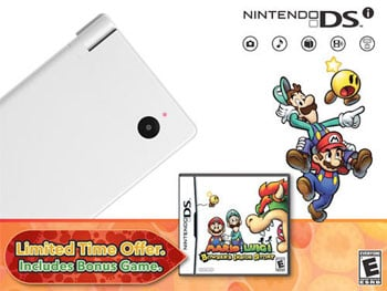 DSi Bundled With Bowser's Inside Story in April