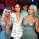 Kim Kardashian and Kendall and Kylie Jenner