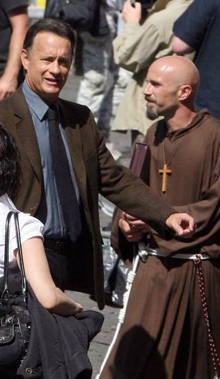 Tom Hanks/ Prof. Robert Langdon Not Welcomed in Church