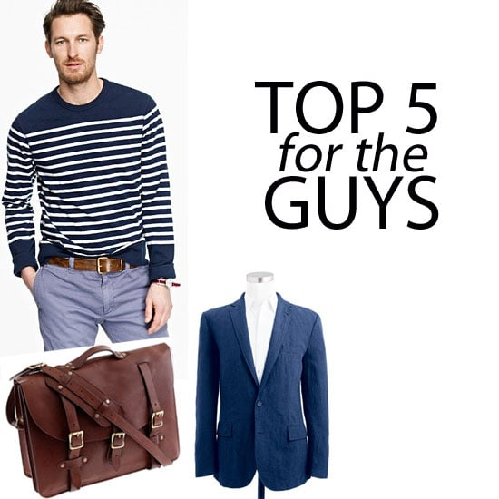 Top Five Edit From J.Crew Menswear Collection: Shop It Online with Free International Shipping to Australia, Via Shopstyle