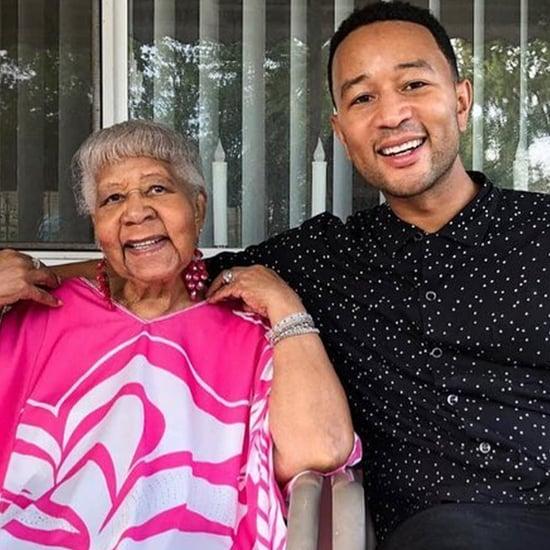 John Legend Honors Late Grandma Marjorie on Instagram