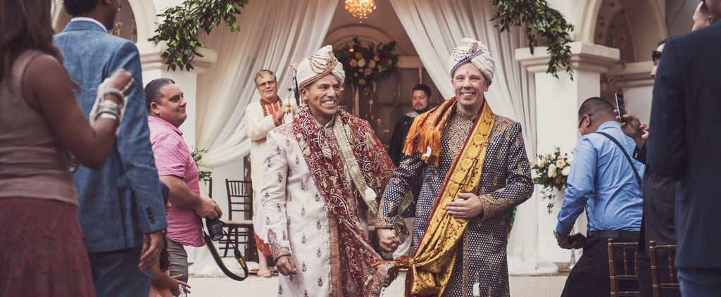These 2 Grooms Held Their Extravagant Cultural Wedding at a Wildlife Conservation Zoo