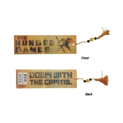 The Hunger Games Down With the Capitol Bookmark ($8)