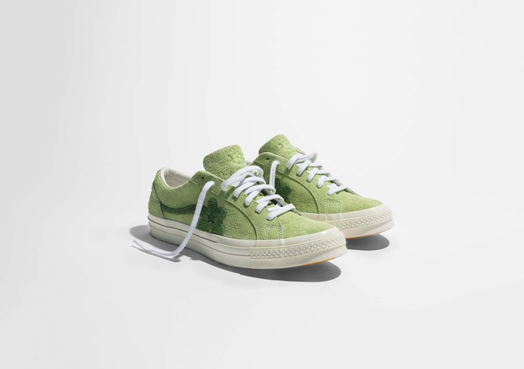 Converse Golf Le Fleur* Suede Low Top - Green ($100)