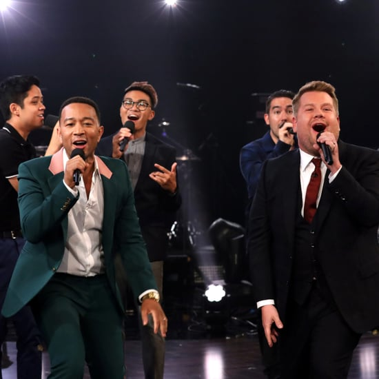 John Legend and James Corden's Summer Music Riff-Off Video