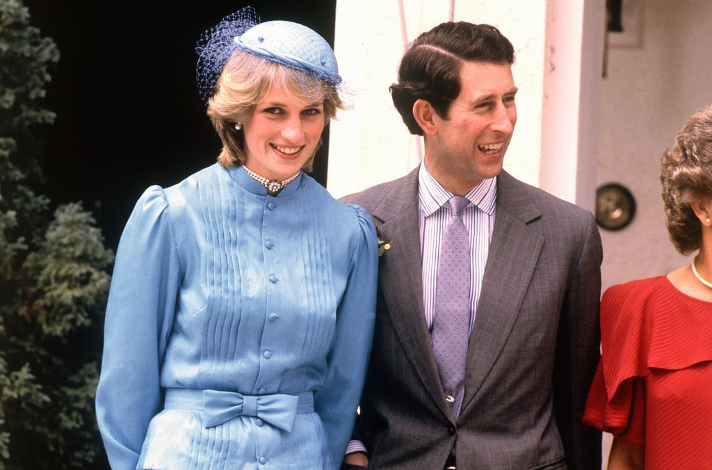 Princess Diana's Blue Outfit