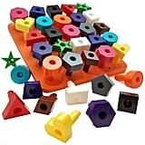 Peg oard Shapes Puzzle
