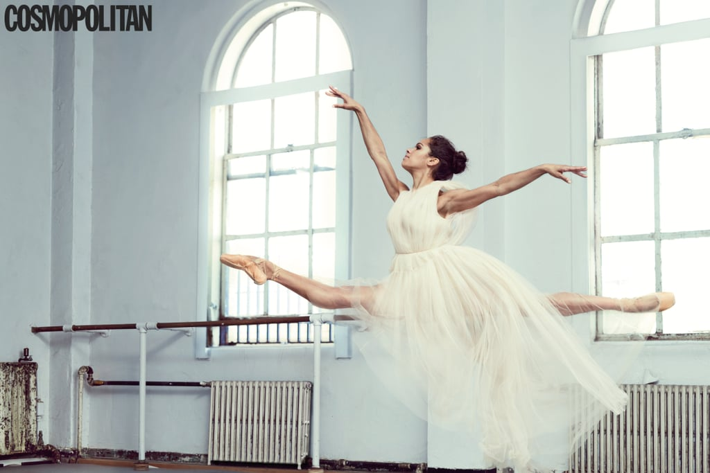 Misty Copeland's latest interview only proves what we already knew: she is an endless well of inspiration. The principal dancer for the American Ballet Theatre — and the company's first black, female principal dancer — recently spoke to Cosmopolitan about her success, self-motivational tactics, and the effect Prince had on her career. She also posed for a magnificent series of photographs, also to be included in the magazine's upcoming August issue. Ahead, we've rounded up some of the dancer's outstanding quotes from the interview.