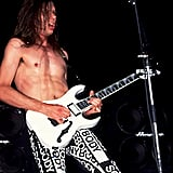 Paul Gilbert of Mr. Big, 1990