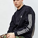 adidas Lock Up Logo Crew Neck Sweatshirt